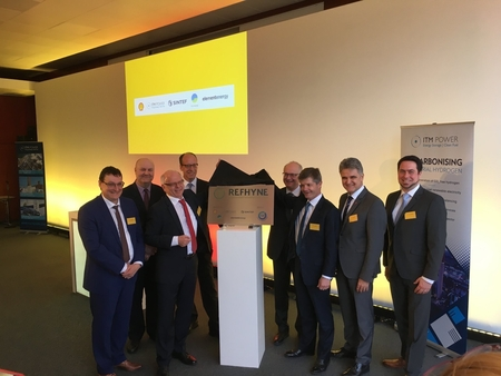 Launch of Refhyne, world's largest electrolysis plant in Rhineland refinery