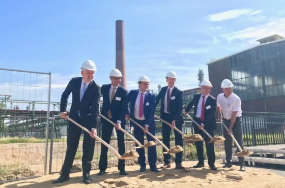 Construction starts on the world's largest PEM electrolyser at Shell's Rheinland Refinery